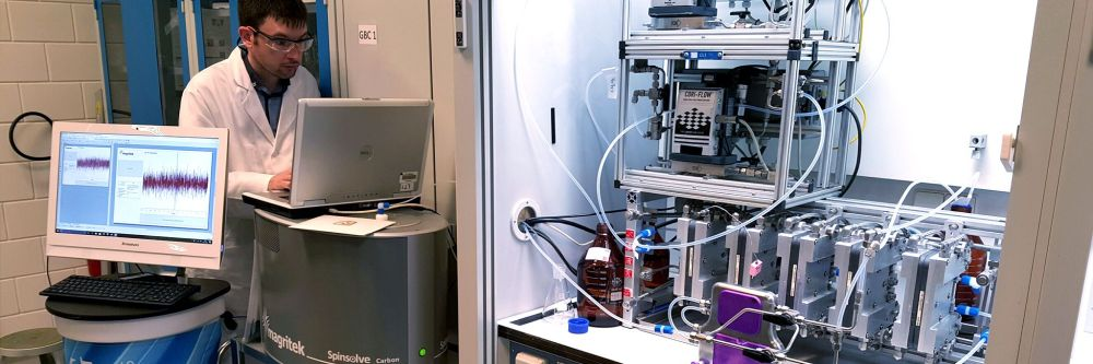 medium resolution of continuous flow chemistry technology corning zaiput flow technologies and magritek demonstrate integrated continuous manufacturing and downstream process