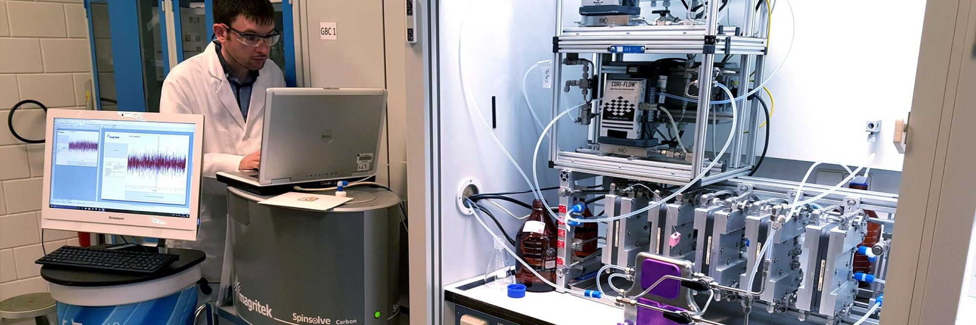 hight resolution of continuous flow chemistry technology corning zaiput flow technologies and magritek demonstrate integrated continuous manufacturing and downstream process