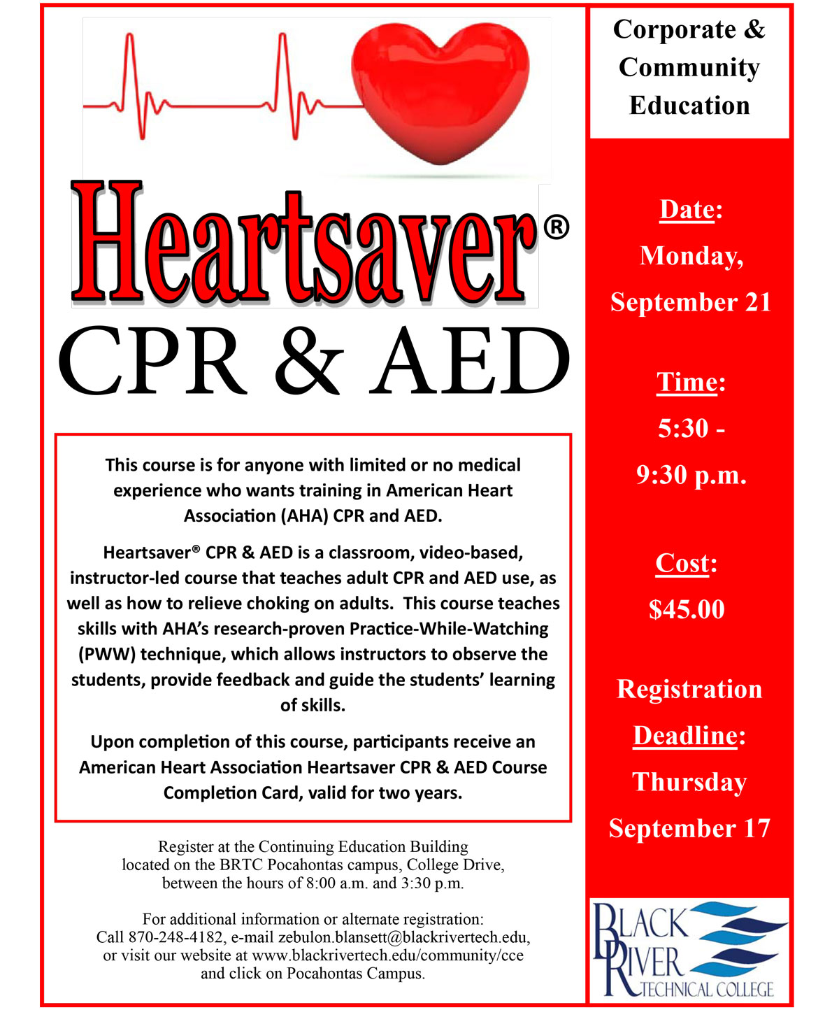 Heartsaver Cpr Amp Aed
