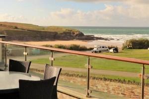 Trevose Ocean Blue Holiday apartment Cornwall sea views