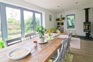Waterhouse holiday home Cornwall dining area