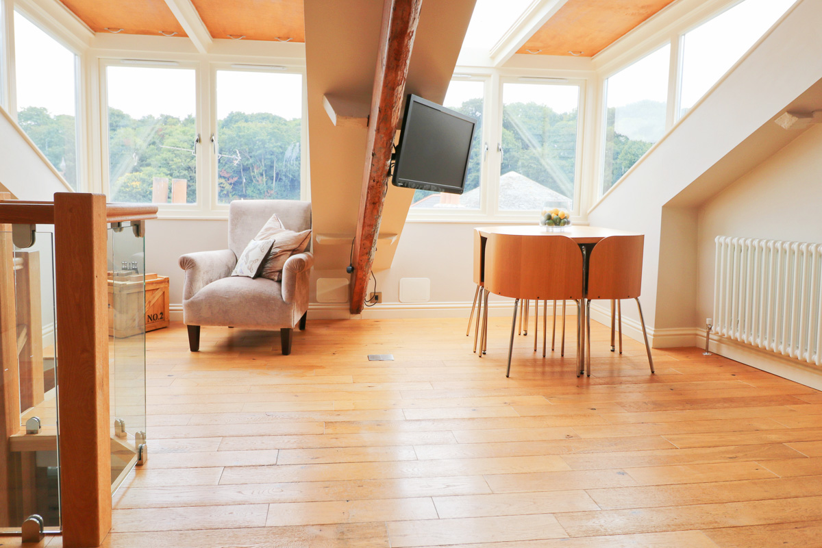 character holiday cottage in Padstow open plan lovely area