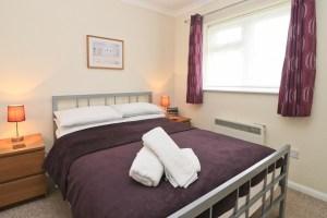 Sandpiper holiday home master bedroom