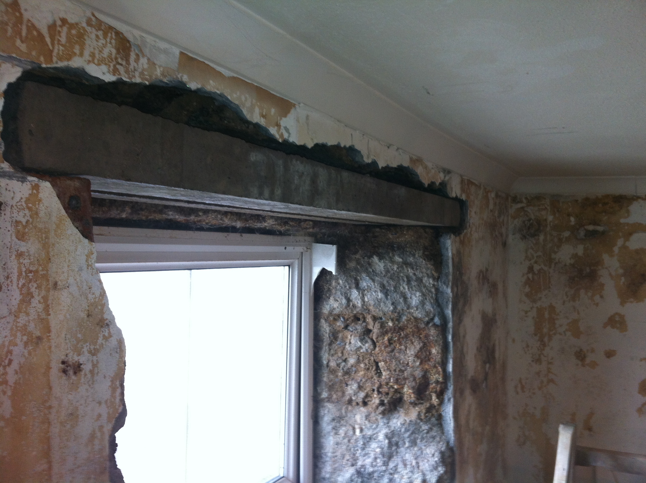 Many Of The Internal Wooden Window Lintels Had Rotted Out