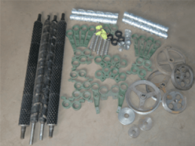 shucking machine parts