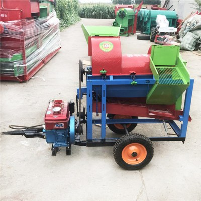 diesel millet thresher machine
