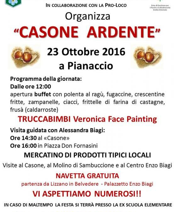 23 OTTOBRE 2016 (Giro per Casone Ardente)