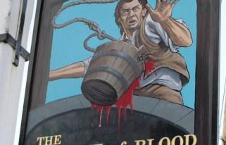 Fogadó tábla The Bucket of Blood