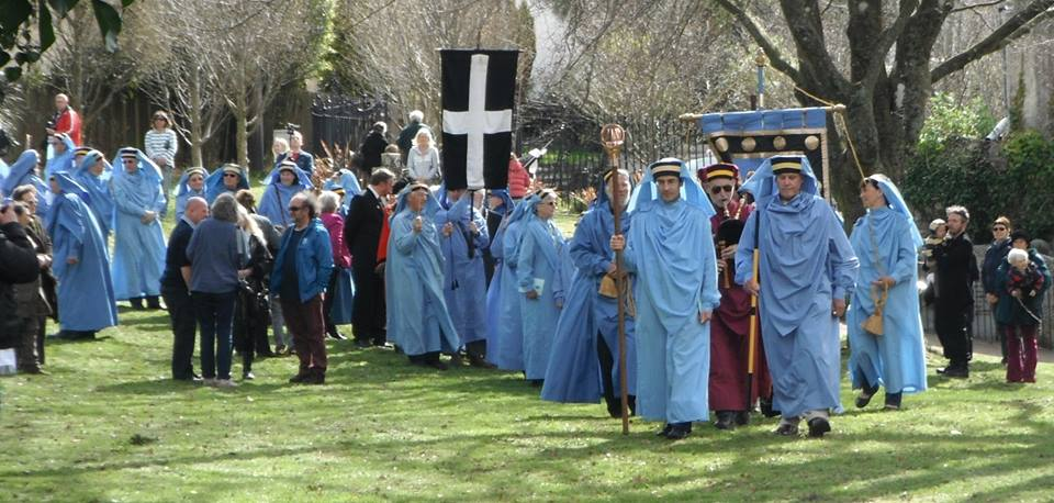 Proclamation in St Austell April 2105