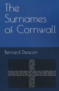 Surnames of Cornwall