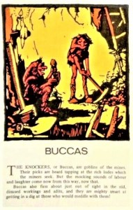 EARLY CORNISH LOOE LEGENDS POSTCARDS - Buccas