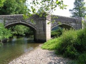 Trekelland Bridge over the River Iney by Jos Otway-Ruthven