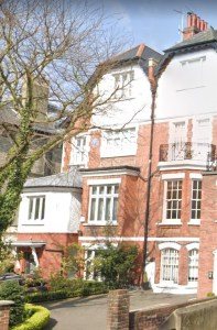 John Passmore Edwards home in London where he died in 1911