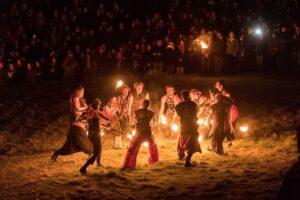 Annual Beltane Festival - Calton Hill Edinburgh