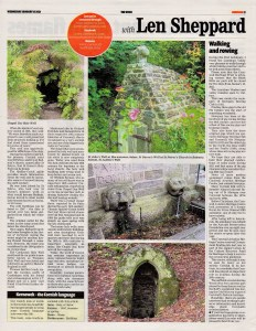 Ertach Kernow - Preserving our holy ground - Cornwall's holy wells