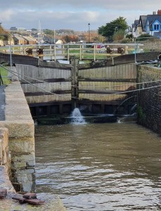 Locks at the Bude Canal