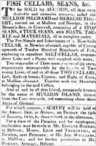 Royal Cornwall Gazette - Saturday 09 December 1809