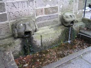 St Gurons Well, St Petrocs Church, Bodmin