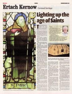 Ertach Kernow - Lighting up the Age of Saints