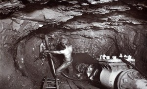 J.C. Burrows was commissioned to take the series of photographs to showcase the mines' advances