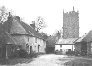 St Clement Churchtown,  Cornwall. Early 20th century