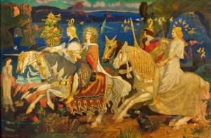 Depiction of 'Tuatha De Danann' from Irish Mythology