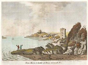 Engraving by Sparrow published by S. Hooper in 1786 with later hand colouring