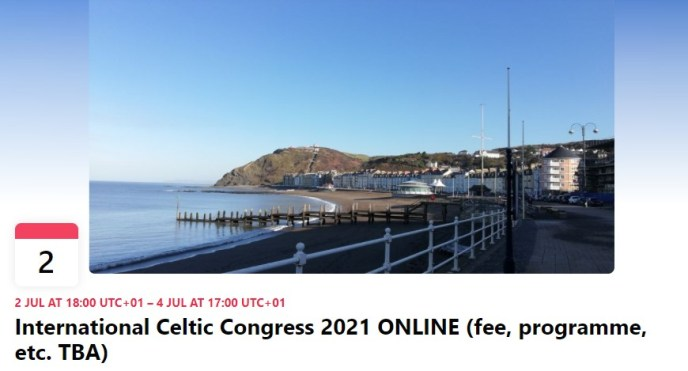 International Celtic Congress - FB Wales Link