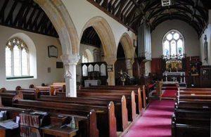 Botus Fleming Church interior