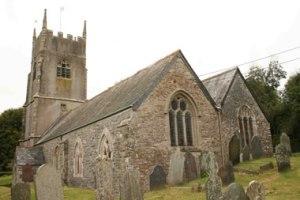 St Mary's Church, Botus Fleming, Cornwall