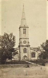 St Marys Church, Truro c1875