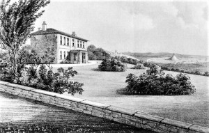 Trengwainton House 1866 before later alterations