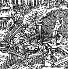 Etching from Agricola