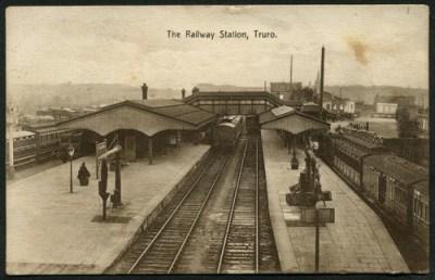 Truro Station in 1912