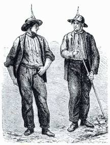 Cornish Copper Miners