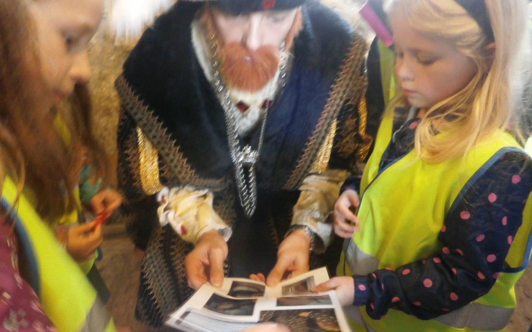 King Charles meet King Henry VIII!!