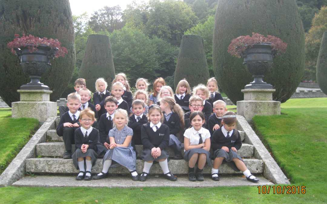 Connor Downs Academy experience life before electricity at Lanhydrock House!