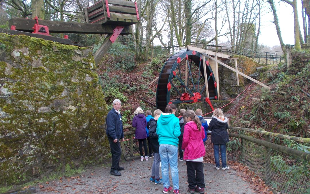 Polperro Primary Academy visit to Wheal Martyn