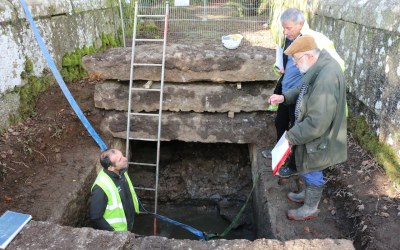 Investigatory works at Treffry Viaduct have started!