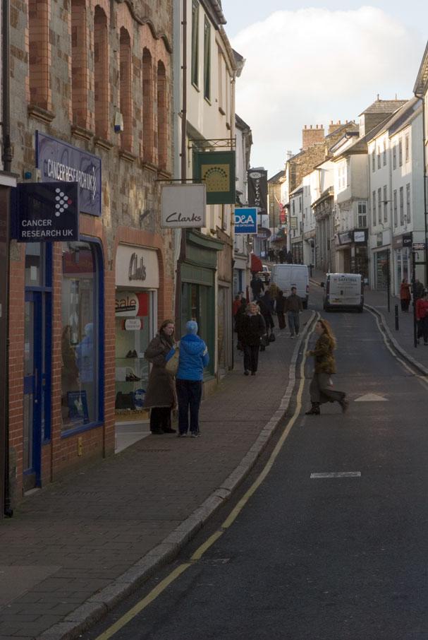 Bodmin High Street  Cornwall Guide