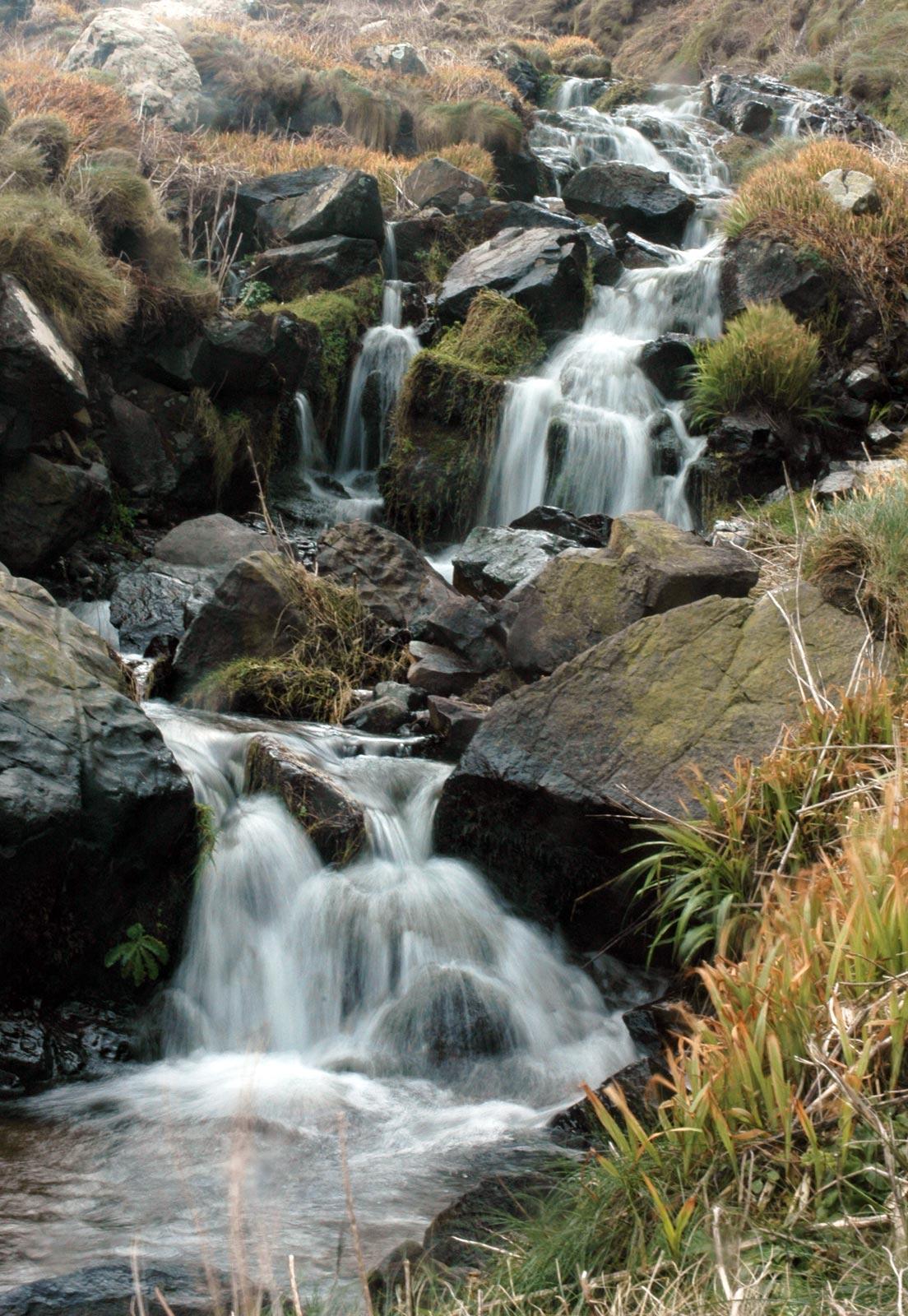 Falls Wallpaper Waterfall River Cove Waterfall Cornwall Guide