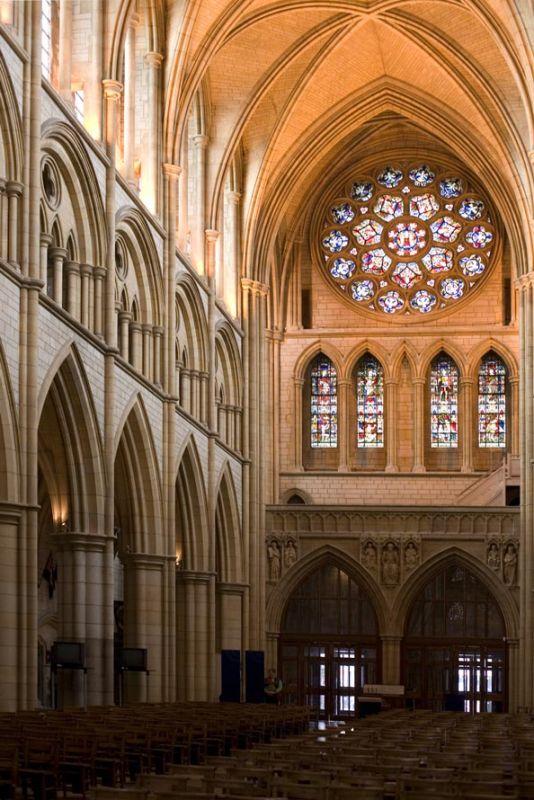 Truro Cathedral Interior Cornwall Guide