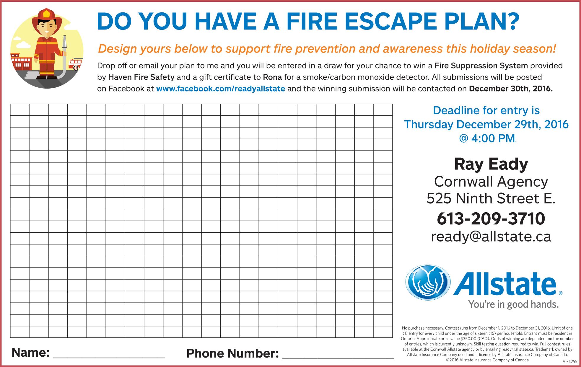 Do You Have You Fire Escape Plan