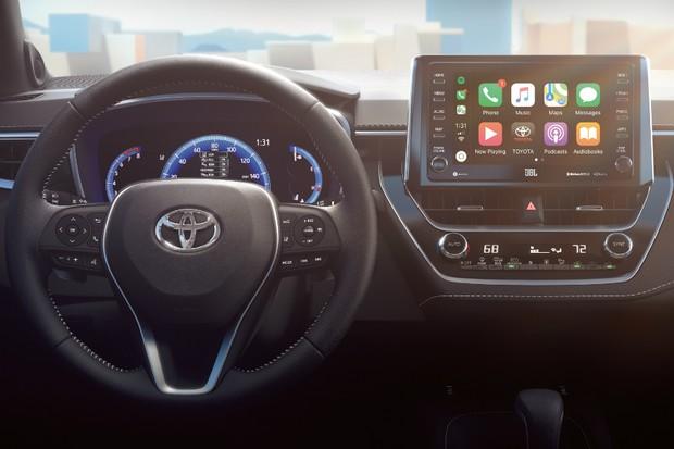 Corolla Hatch: Conheça o interior do novo Corolla Hatch