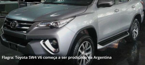 Toyota SW4 V6
