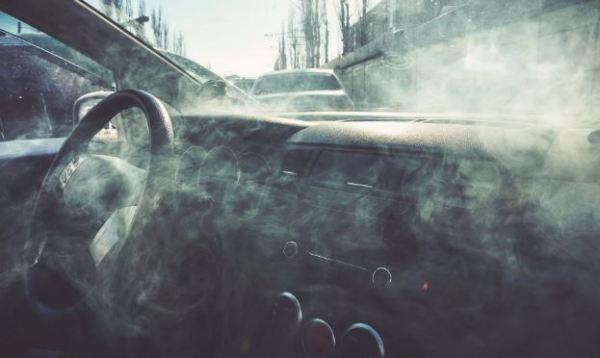 Veículo com Gás Lacrimogênio