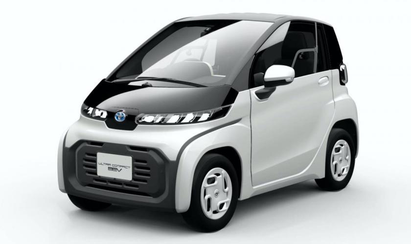 Toyota Apresentou Mini Carro Elétrico para os Jogos Olímpicos