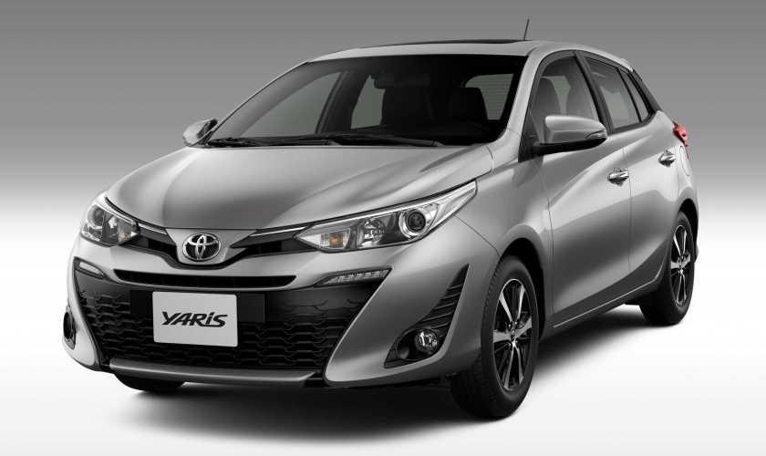 Toyota Yaris → Versão Hatch XL Plus troca Motor por 1.5