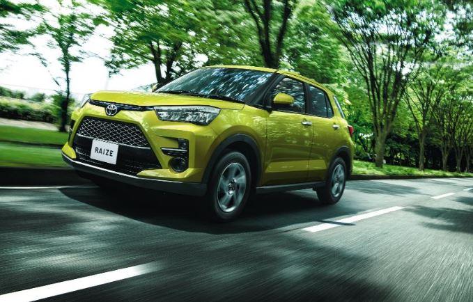 Toyota Raize deve Estrear em 2021 no Brasil
