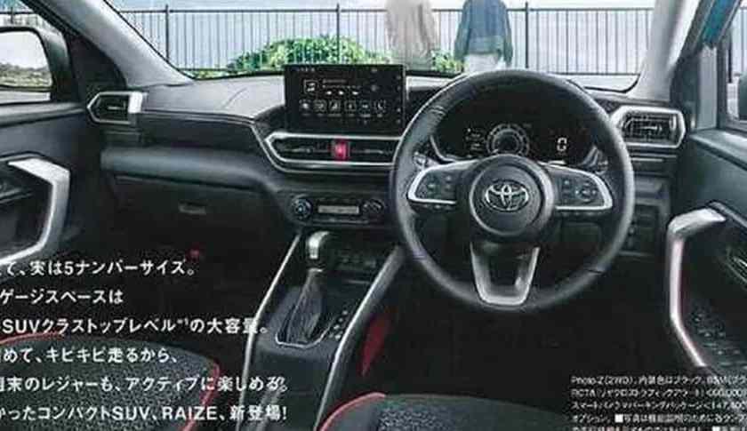 Toyota Raize → Veja o Interior e os Detalhes do Veículo